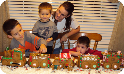 2009 Gingerbread Train